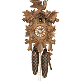 Cuckoo Clock 8-day-movement Carved-Style 30cm by Hekas