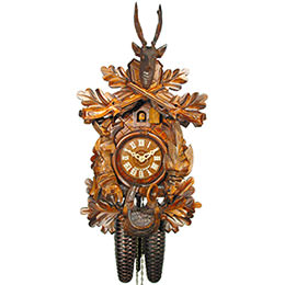 Cuckoo Clock 8-day-movement Carved-Style 40cm by August Schwer