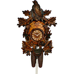 Cuckoo Clock 8-day-movement Carved-Style 43cm by Anton Schneider