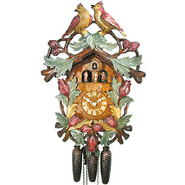 Cuckoo Clock 8-day-movement Carved-Style 57cm by August Schwer