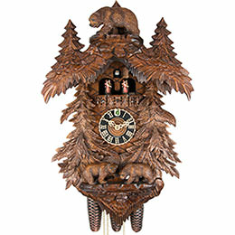Cuckoo Clock 8-day-movement Carved-Style 58cm by H�nes