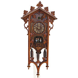 Cuckoo Clock 8-day-movement Carved-Style 68cm by Anton Schneider