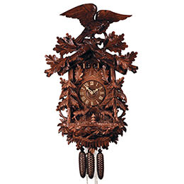 Cuckoo Clock 8-day-movement Carved-Style 90cm by Rombach & Haas