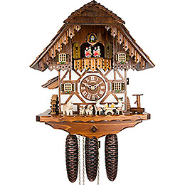 Cuckoo Clock 8-day-movement Chalet-Style 40cm by Anton Schneider