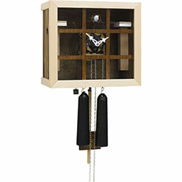 Cuckoo Clock 8-day-movement Modern-Art-Style 26cm by Rombach & Haas