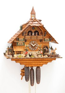 Black Forest Clock of the Year 2013 by Hubert Herr
