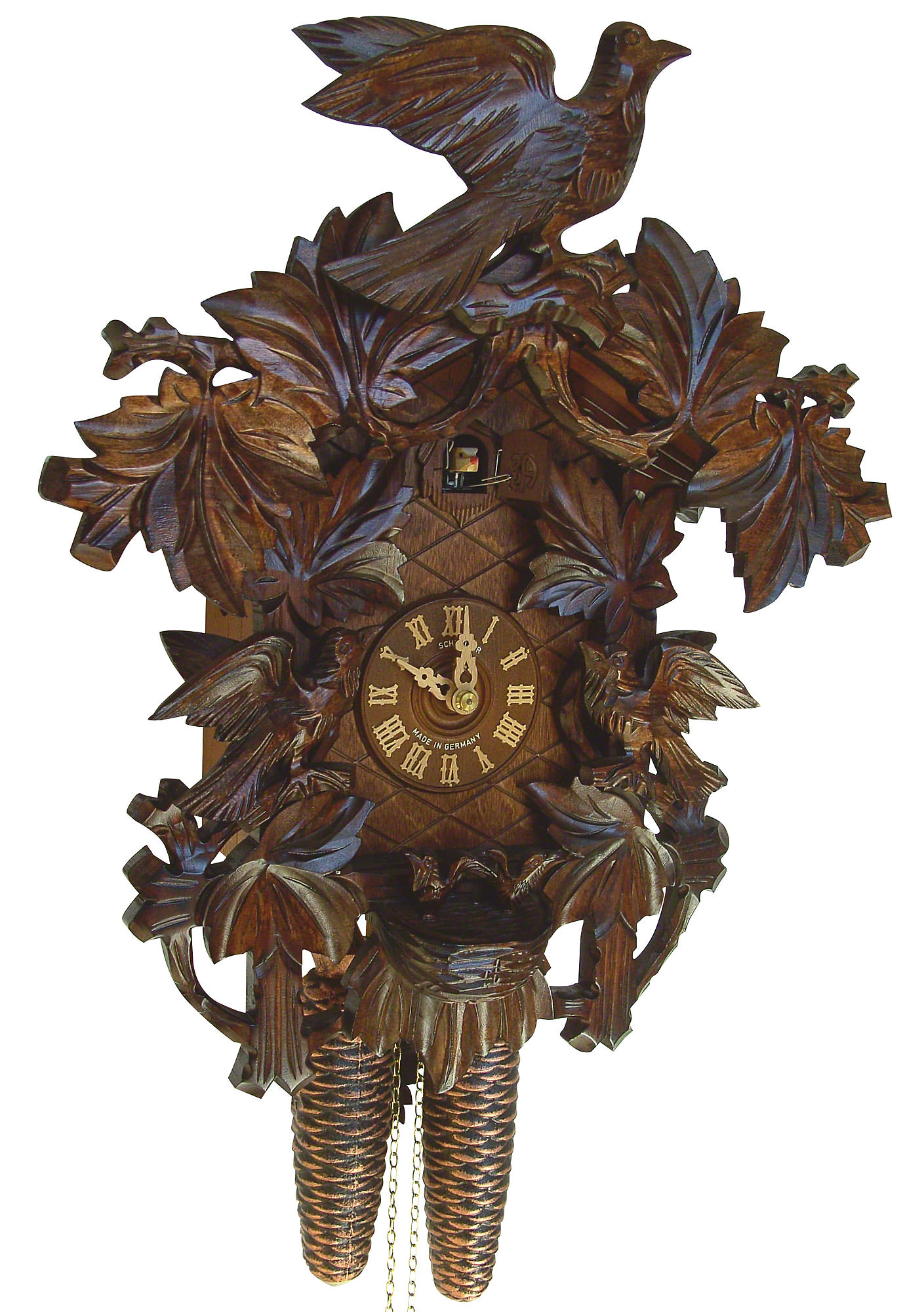 anton schneider cuckoo clock instructions