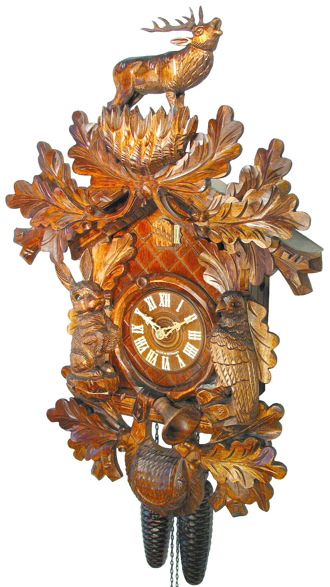 Cuckoo Clock 8-day-movement Carved-Style 57cm by August ...