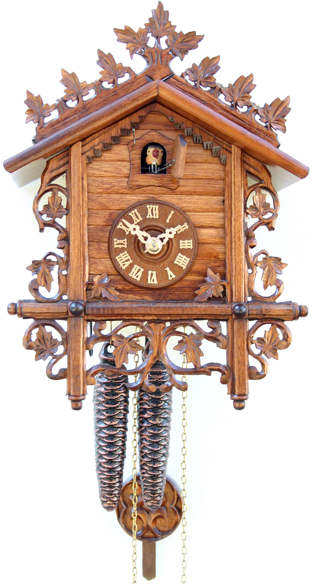 Cuckoo Clock 1-day-movement Chalet-Style 28cm by Rombach ...