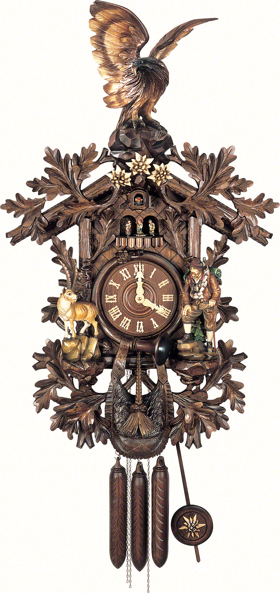How do you determine the date of an antique cuckoo clock