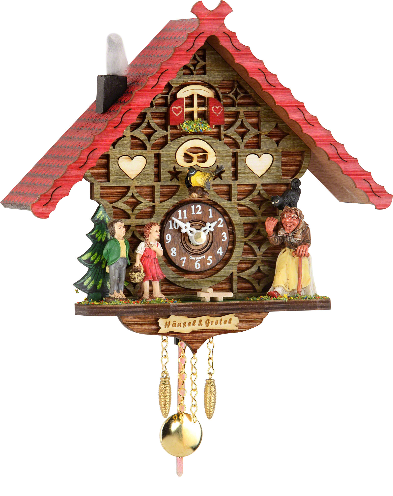 Cuckoo clock kuckulino quartz movement black forest How to make a cuckoo clock