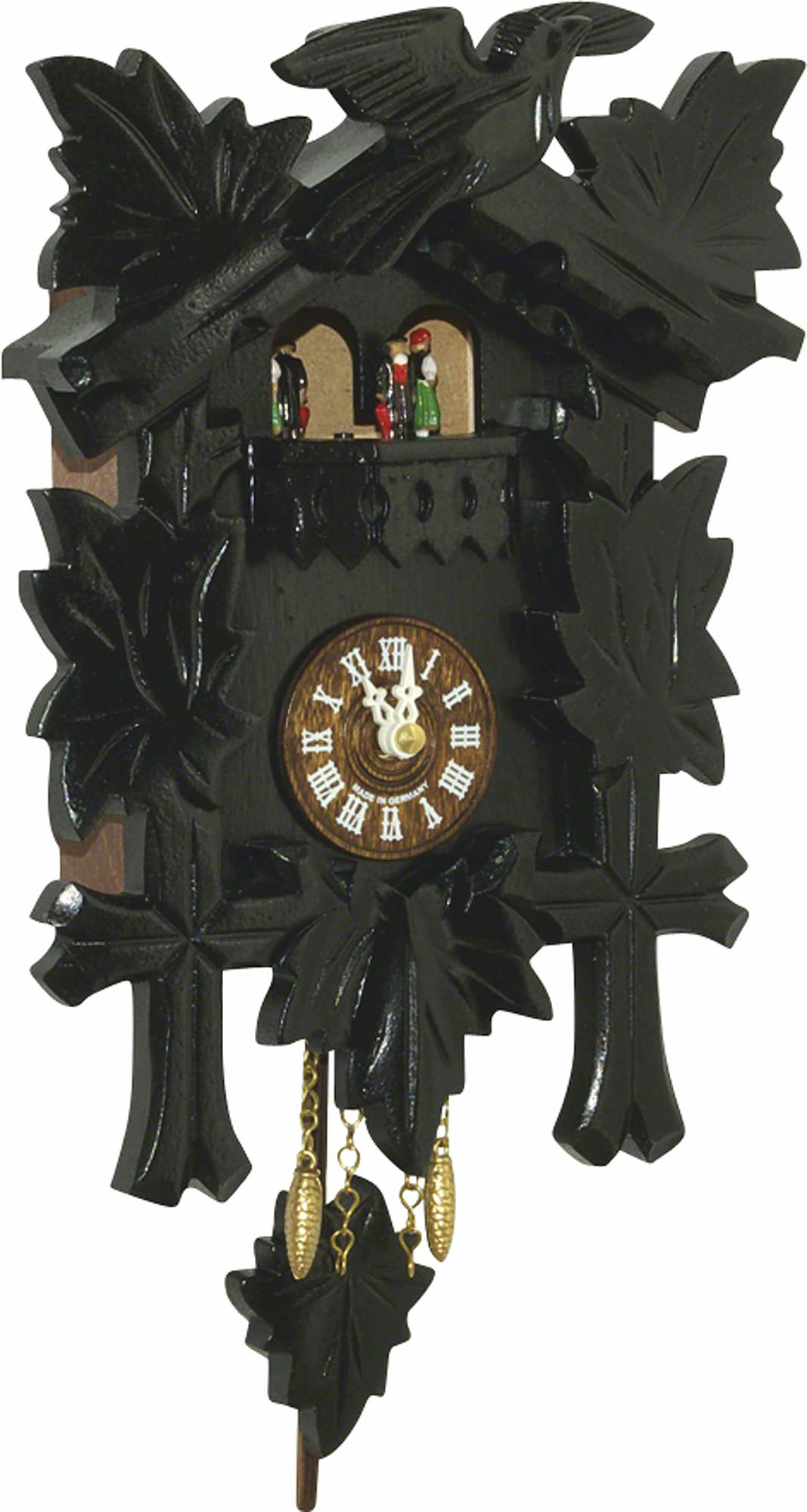 Cuckoo clock quartz movement black forest pendulum clock style 24cm by trenkle uhren 2018 pq - Cuckoo clock pendulum ...