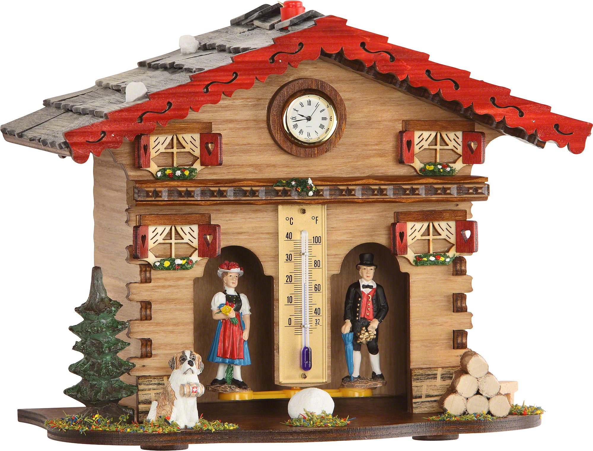 Weather house 18cm by trenkle uhren 849 for All weather homes