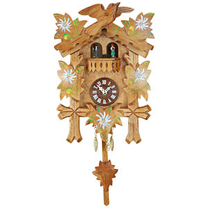 Black Forest Souvenir Clocks & Weather Houses Black Forest Pendulum Clock Quartz-movement 25cm by Trenkle Uhren