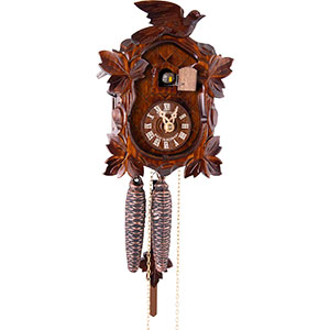 Carved Cuckoo Clocks Cuckoo Clock 1-day-movement Carved-Style 20cm by Anton Schneider