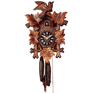 Carved Cuckoo Clocks Cuckoo Clock 1-day-movement Carved-Style 28cm by Rombach & Haas