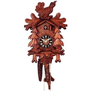 Carved Cuckoo Clocks Cuckoo Clock 1-day-movement Carved-Style 31cm by Rombach & Haas