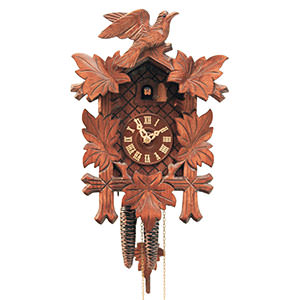 Carved Cuckoo Clocks Cuckoo Clock 1-day-movement Carved-Style 33cm by Rombach & Haas