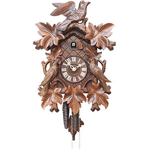 Carved Cuckoo Clocks Cuckoo Clock 1-day-movement Carved-Style 40cm by Rombach & Haas