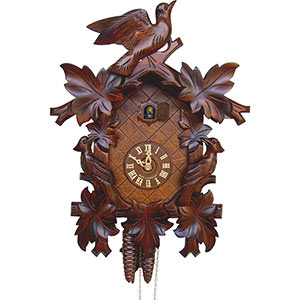 Carved Cuckoo Clocks Cuckoo Clock 1-day-movement Carved-Style 42cm by Anton Schneider
