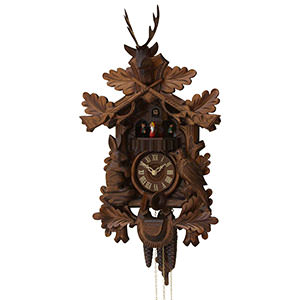 Carved Cuckoo Clocks Cuckoo Clock 1-day-movement Carved-Style 51cm by Rombach & Haas