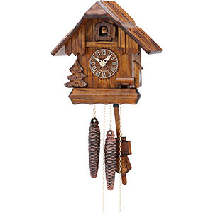 Chalet Cuckoo Clocks Cuckoo Clock 1-day-movement Chalet-Style 20cm by Hekas