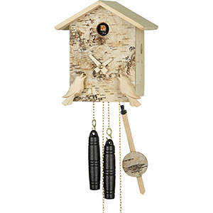 Chalet Cuckoo Clocks Cuckoo Clock 1-day-movement Chalet-Style 21cm by Hubert Herr