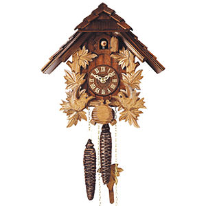 Chalet Cuckoo Clocks Cuckoo Clock 1-day-movement Chalet-Style 24cm by Rombach & Haas