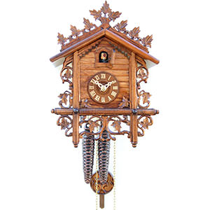 Chalet Cuckoo Clocks Cuckoo Clock 1-day-movement Chalet-Style 28cm by Rombach & Haas