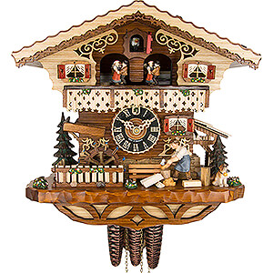 Chalet Cuckoo Clocks Cuckoo Clock 1-day-movement Chalet-Style 29cm by Hönes