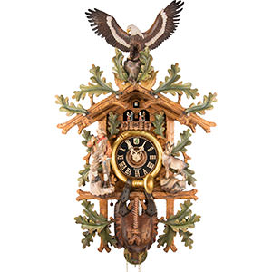 Novelties Cuckoo Clock 8-day-movement Carved-Style 102cm by Hönes