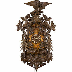 Carved Cuckoo Clocks Cuckoo Clock 8-day-movement Carved-Style 150cm by Rombach & Haas