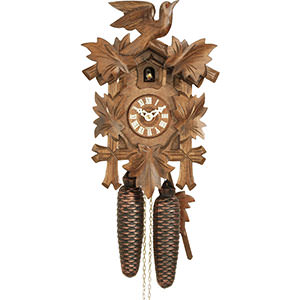 Carved Cuckoo Clocks Cuckoo Clock 8-day-movement Carved-Style 30cm by Hekas