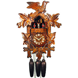 Carved Cuckoo Clocks Cuckoo Clock 8-day-movement Carved-Style 41cm by August Schwer