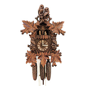 Carved Cuckoo Clocks Cuckoo Clock 8-day-movement Carved-Style 50cm by Rombach & Haas