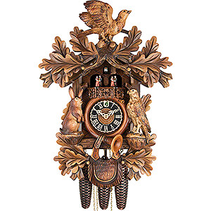 Carved Cuckoo Clocks Cuckoo Clock 8-day-movement Carved-Style 52cm by Hönes
