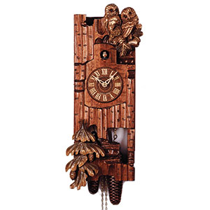 Carved Cuckoo Clocks Cuckoo Clock 8-day-movement Carved-Style 52cm by Rombach & Haas