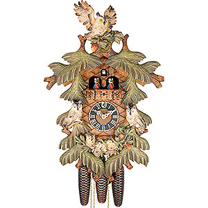 Carved Cuckoo Clocks Cuckoo Clock 8-day-movement Carved-Style 57cm by Hönes