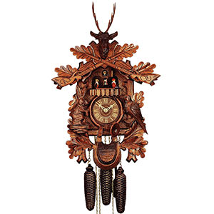 Carved Cuckoo Clocks Cuckoo Clock 8-day-movement Carved-Style 60cm by Rombach & Haas