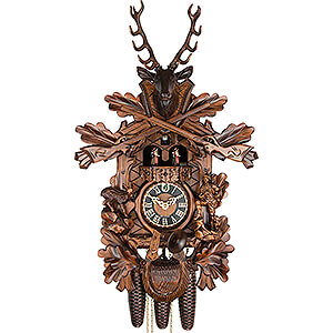 Carved Cuckoo Clocks Cuckoo Clock 8-day-movement Carved-Style 61cm by Hönes