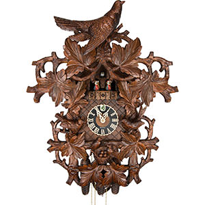 Novelties Cuckoo Clock 8-day-movement Carved-Style 68cm by Hönes