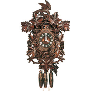 Carved Cuckoo Clocks Cuckoo Clock 8-day-movement Carved-Style 70cm by Hubert Herr