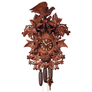 Carved Cuckoo Clocks Cuckoo Clock 8-day-movement Carved-Style 70cm by Rombach & Haas