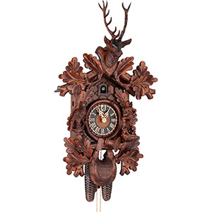 Novelties Cuckoo Clock 8-day-movement Carved-Style 71cm by Hönes