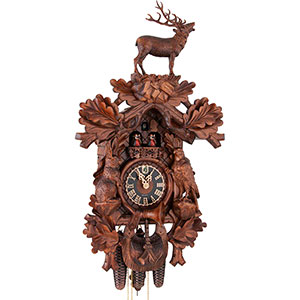 Novelties Cuckoo Clock 8-day-movement Carved-Style 80cm by Hönes
