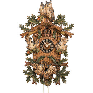 Novelties Cuckoo Clock 8-day-movement Carved-Style 87cm by Hönes