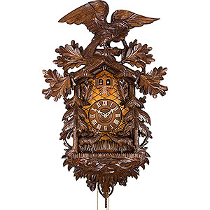 Carved Cuckoo Clocks Cuckoo Clock 8-day-movement Carved-Style 90cm by Rombach & Haas