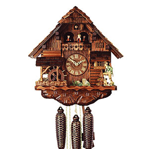 Chalet Cuckoo Clocks Cuckoo Clock 8-day-movement Chalet-Style 38cm by Rombach & Haas