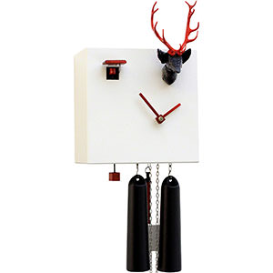 Novelties Cuckoo Clock 8-day-movement Modern-Art-Style 20cm by Rombach & Haas