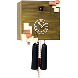 Novelties Cuckoo Clock 8-day-movement Modern-Art-Style 25cm by Rombach & Haas